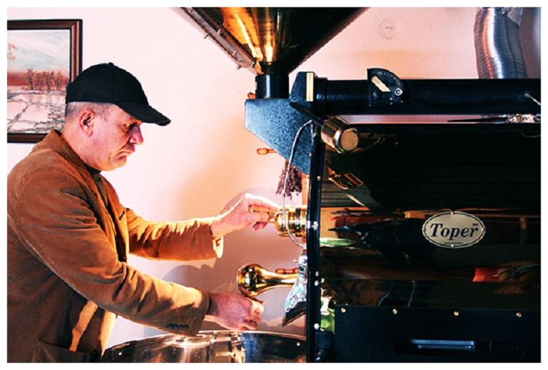 prazenie kavy