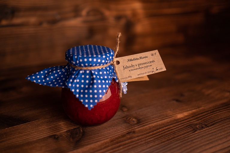 Nikoleta Maria poctive domáci marmelády:jahoda